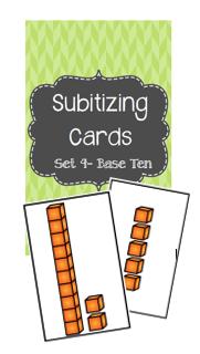 Subitizing Base 10