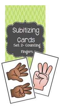 Subitizing Counting Fingers
